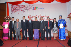 Deputy Ministers of Myanmar and Vietnam and FPT's leaders